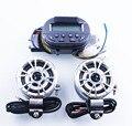 1 Set Waterproof Black Speaker 12V Motorcycle mp3 motor bike vehicle FM radio support Amplifier SD/MMC