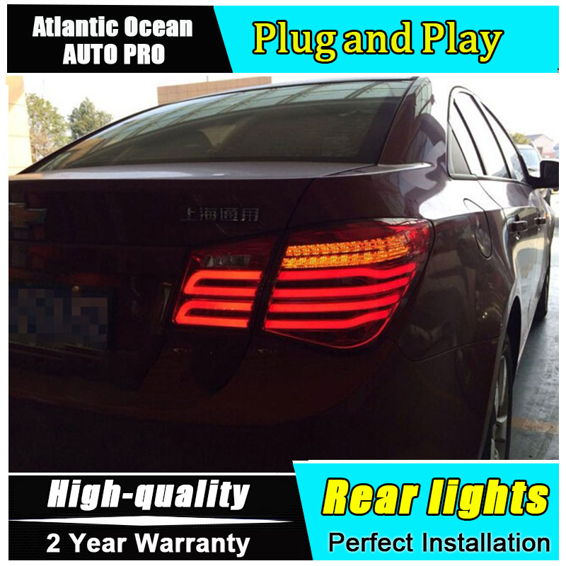 2009-2014 for chevrolet cruze led taillights for chevrolet CRUZE led rear lights car styling GLK model rear trunk lamp free shipping for car rear lamp for lexus for is 250 for is350 led taillights year 2006 2014