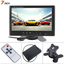 チャンネルビデオ入力車のリアビューモニター 7 HD 480