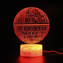 Kids Room lights Touch Lamp Led Remote Control 3d Table Lamp Light Party Decoration Night Light Projection цена и фото