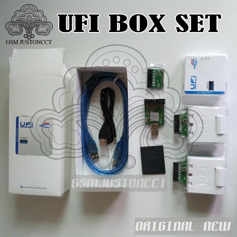 NOUVEAU UFi BOÎTE ufibox ufi puissant MEM Service Outil Lire MEM données utilisateur, réparation, redimensionner, format, effacer, écrire mise à jour firmware MEM