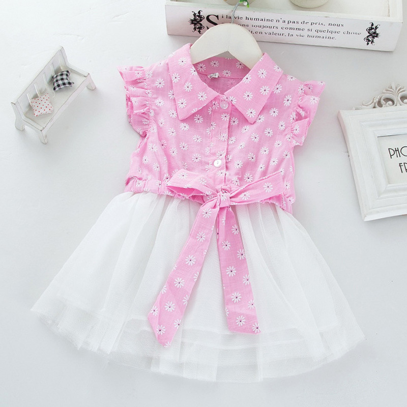 Summer Baby Girl Dress 2016 New Princess Dress Baby Girls Party for Toddler Girl Dresses Clothing Tutu Kids Clothes
