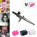 US store dotting tool Mini Compressor Airbrush 0.4mm Tattoo Art Air brush nail tools Face Paint Craft Cake Decoration Toy Models