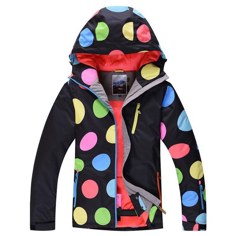 2016 New women winte waterproof Wearable hiking outdoor suit jacket women/snowboard jacket ski suit women snow jackets цена и фото