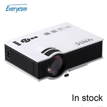 Originais UNIC UC40 + 800lms 3D Mini Pico Projector LED HDMI Projetor Home Theater portátil projetor multimídia projetor Full HD 1080 P vídeo(China (Mainland))