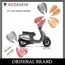 KODASKIN 2D Scooter Body Side Emblem Sticker Decal for Vespa Sprint 50 125 250 300