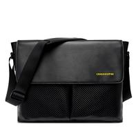 Спортивная сумка Для мужчин одного плеча косые сумка портативный компьютер посылка водонепроницаемой ткани Курьерские сумки бесплатная д