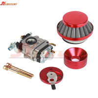 Carburetor Carb Air Filter Stack Kit For 47cc 49cc Mini Moto ATV Pocket Bike Motorcycle Motocross
