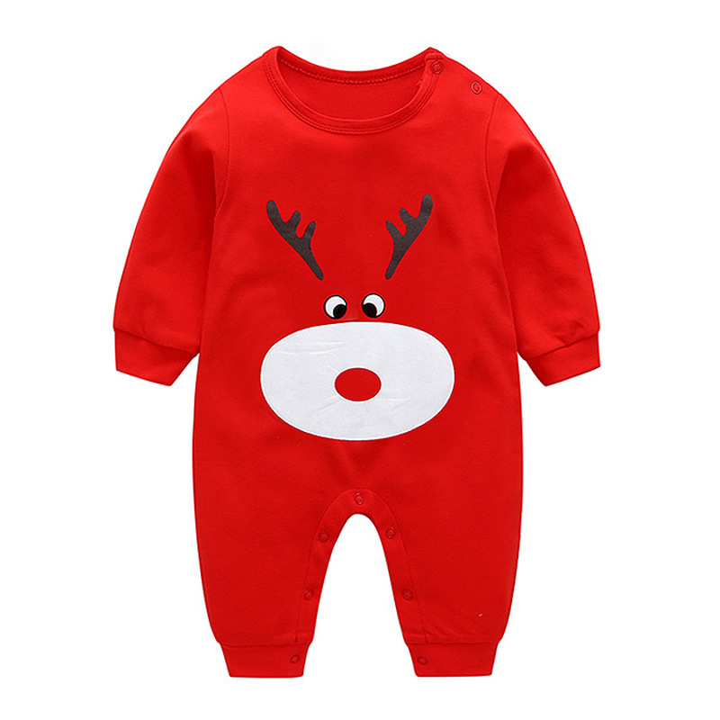 VTOM Baby Infant   Rompers   Baby Boys Baby Girls Long-Sleeved   Rompers   Cartoon Infant Jumpsuit Baby Toddler Girl Clothes