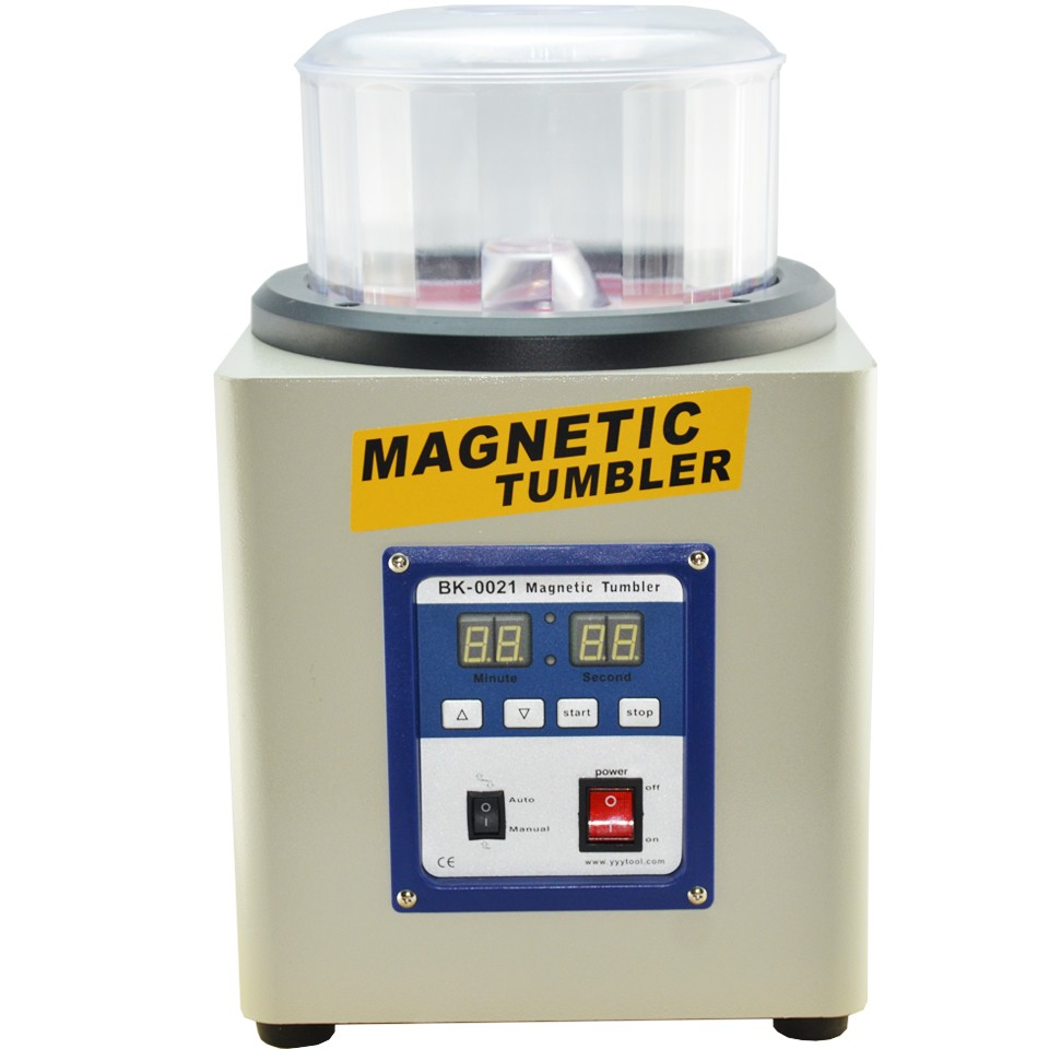 KT-205 800g 220V  Magnetic Tumbler Powerful Electric Magnetic Polishing Machine jewelry polishing finishing grinding tools