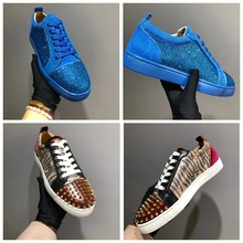 dd1afb2b8b 2018 Low-Cut Leisure shoes cl andgz Lace-Up Leopard print horse hair Cow
