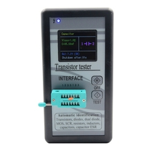 1pcs Digital Transistor Test Instrument Capacitor Transistor Measurement Analysis Instruments