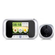 multi-language 2.8 inch video peephole camera IR Night Vision 0.3M door camera Photos Taking VIDEO doorbell camera door bell