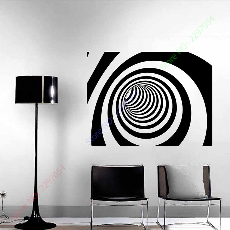 Hot Sale New 4 Different Designs 3D Abstract Vinyl Wall Sticker Art Wall  Decal Home Decor Decoration Wall Mural. Designer Wall Cabinets Promotion Shop for Promotional Designer