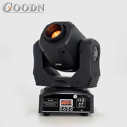 Hohe Helligkeit Mini Moving Head Licht Spot 60 W LED Mit Gobos Farbe Platte