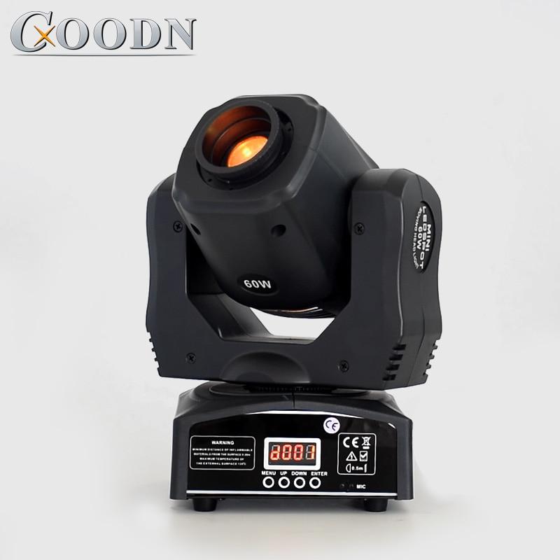 Mini tache lumineuse principale mobile d'intense luminosité 60 W LED avec la plaque de couleur de Gobos