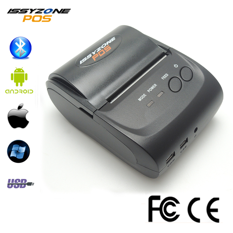 IMP006 Free SDK 58mm Handheld Pos Thermal Printer Android IOS Bluetooth 4.0 Receipt Printer Mini Mobile Protable Thermal Printer portable bluetooth thermal printer mini 58mm bluetooth android and ios pos printer mobile usb receipt printer