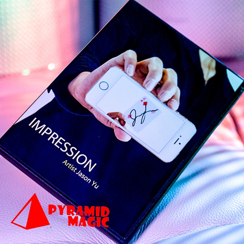 Impression (DVD And Gimmick) By Jason Yu And SansMinds  / Close-up Street Card Magic Trick / Wholesale