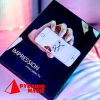 Impression (DVD et Gimmick) de Jason Yu et sansmind/gros plan street card tour de magie/vente en gros