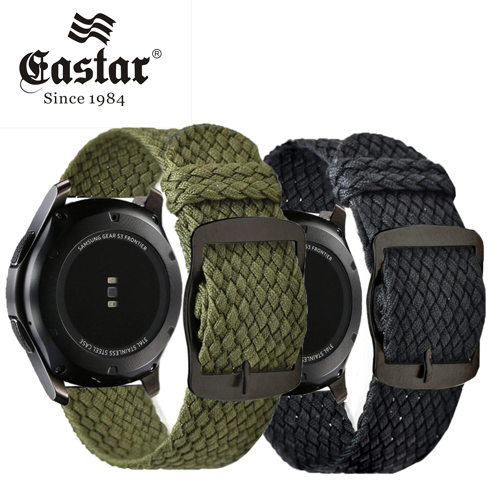 Eastar Nylon Woven Watch Band Colorful Replacement Buckle Strap For Samsung Gear S3 For Xiaomi Huami Amazfit Pace Bracelet 22mm