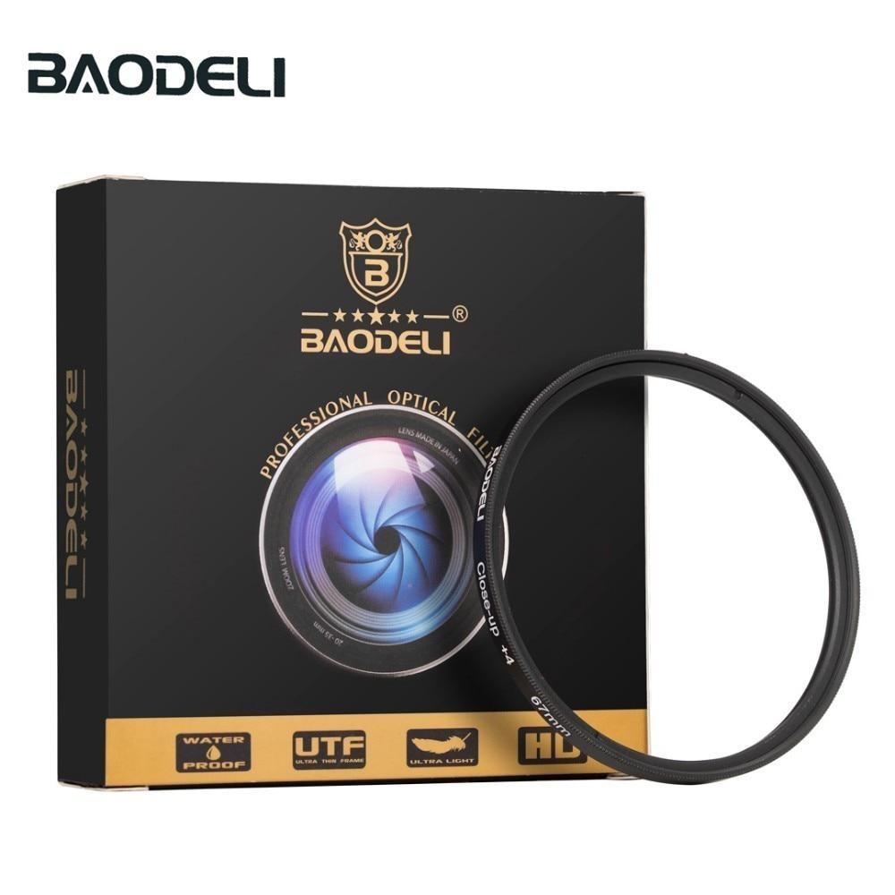 72 BAODELI Lens Filtro Close Up Macro Filter Concept 40.5 43 46 49 52 55 58 62 67 72 77 82 mm For Canon Dslr Nikon Sony Accessories (2)