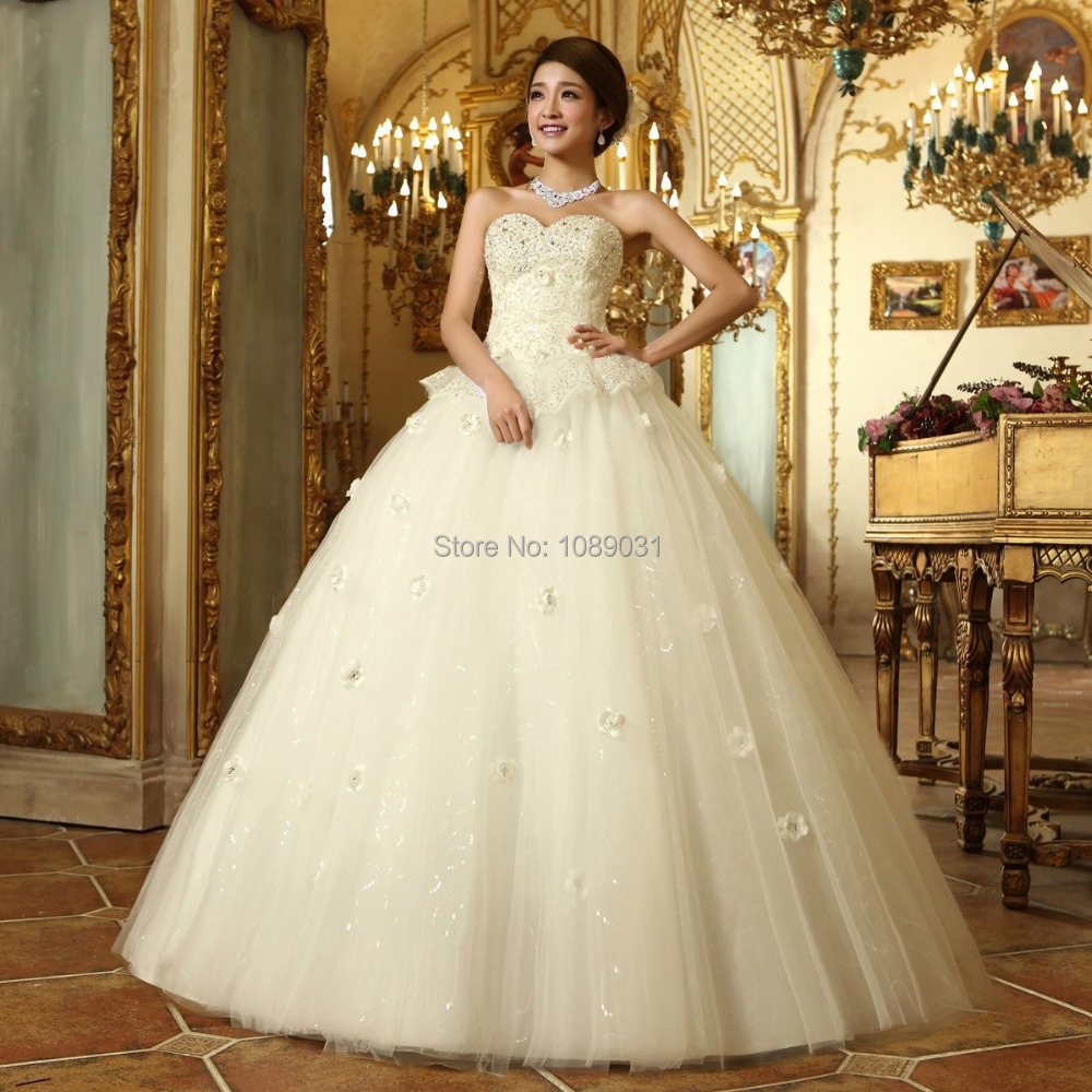 2017 Latest Wedding Gown Pattern – fashion dresses