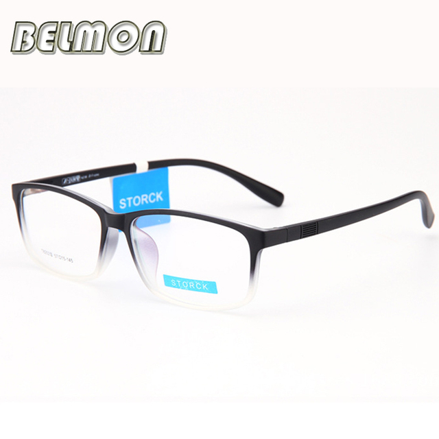 Marco de anteojos Mujeres Hombres Ópticos Miopía Gafas TR90 Marco Para mujeres Lente Transparente Mujer Hombre armacao RS053