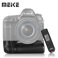 Meike MK-5DIV Pro Vertical Battery Grip with 2.4G Wireless Remote Control for Canon EOS 5D mark IV as BG-E20