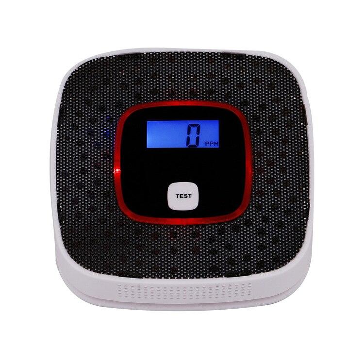 Honig Co Kohlenmonoxid-detektor Und Rauch Alarm Mit Stimme Warnung Lcd Digital Display High Sensitive Kohlenmonoxid-detektor Vergiftung Alarm Brandschutz Rauchmelder