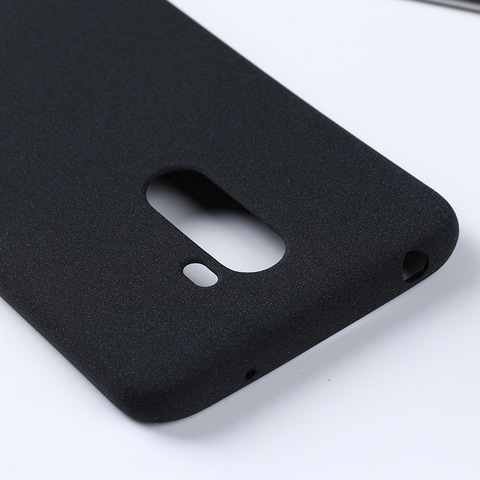 For Xiaomi Pocophone F1 Case Soft TPU Silicone Plain Matte Anit-knock Protective Shell Back Cover For Xiaomi Poco F1 Cases Bag Multan