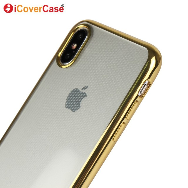coque gold iphone x