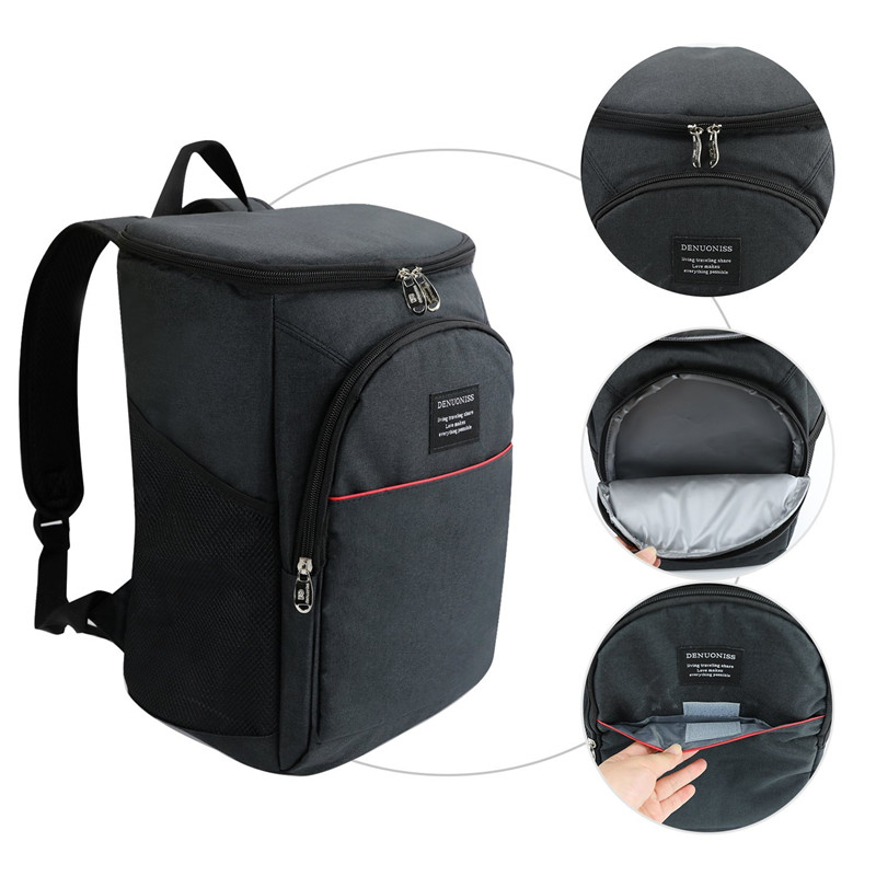 4d2cda48f6e2 Detail Feedback Questions about 18L Large Capacity Portable Cooler Backpack  Soft Insulated Cooler Bags for Hiking Travelling Camping Picnics on ...