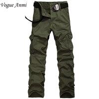 Free Gift Plus Size 29 40 Men S Cargo PantsOutdoor Sports Pants Baggy Pants Cotton Trousers