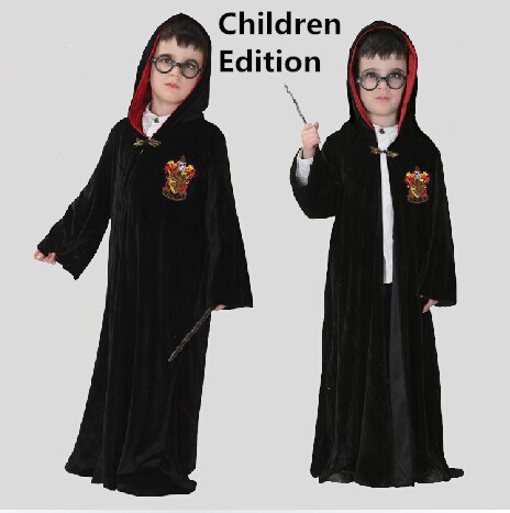 Freeshipping Harry Potter Gryffindor Cosplay Halloween Costume For Kids And  Adult,Nice Chrismasand Halloween Gift