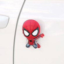 font b Car b font Accessories Cartoon Spider Man Model Shake Head Toy Ornament Magnet