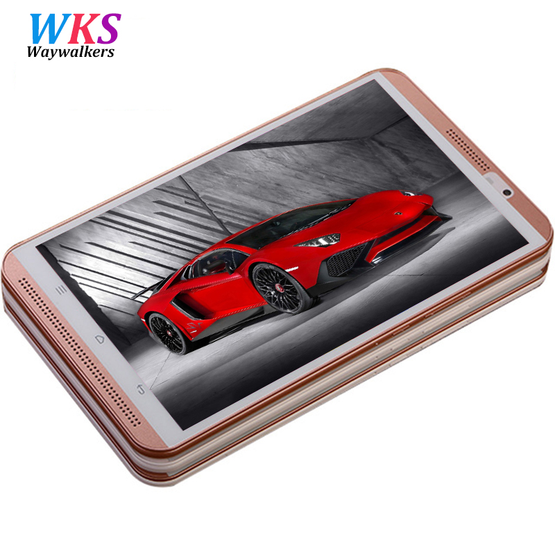 2018 new 8 inch 4G phone call tablet pc Octa Core Android 6 0 4GB RAM