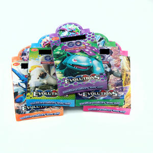 Trading-Card-Set Packs-Per-Box Mega-Card Gift Pokemon-Gx Collectible Child Toy 500PCS