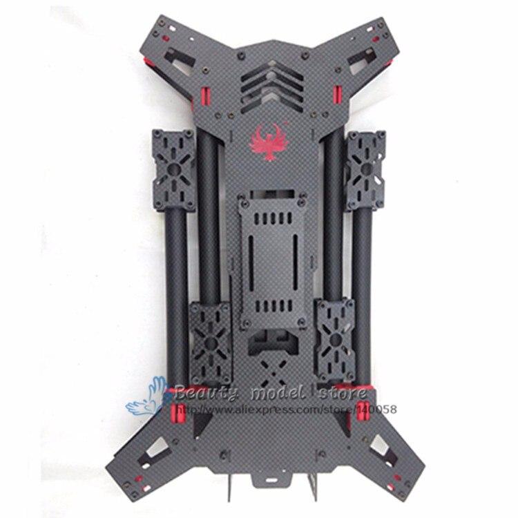 FPV drone quadcopter H4 Alien 450/680 reinem kohlenstoff folding ...