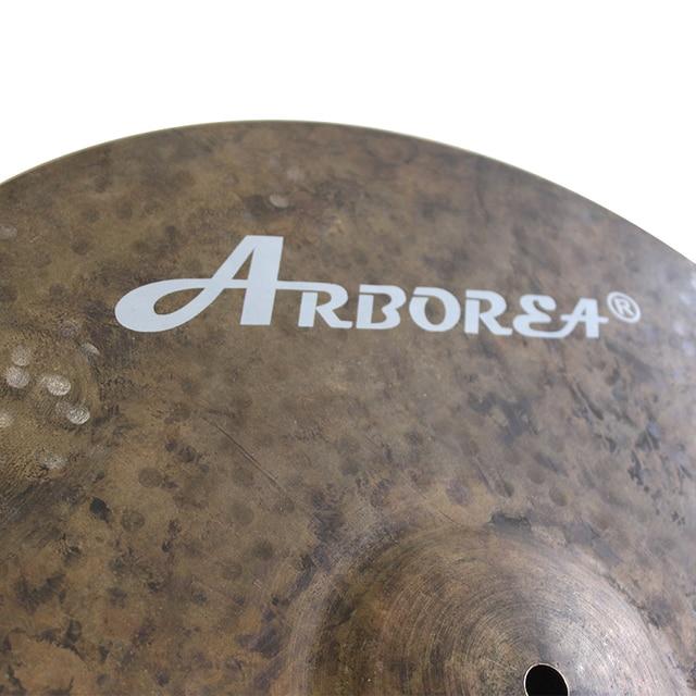 Arborea Knight Series B20 Hand Made Cymbals 18'' Crash+14'' Hihat 1