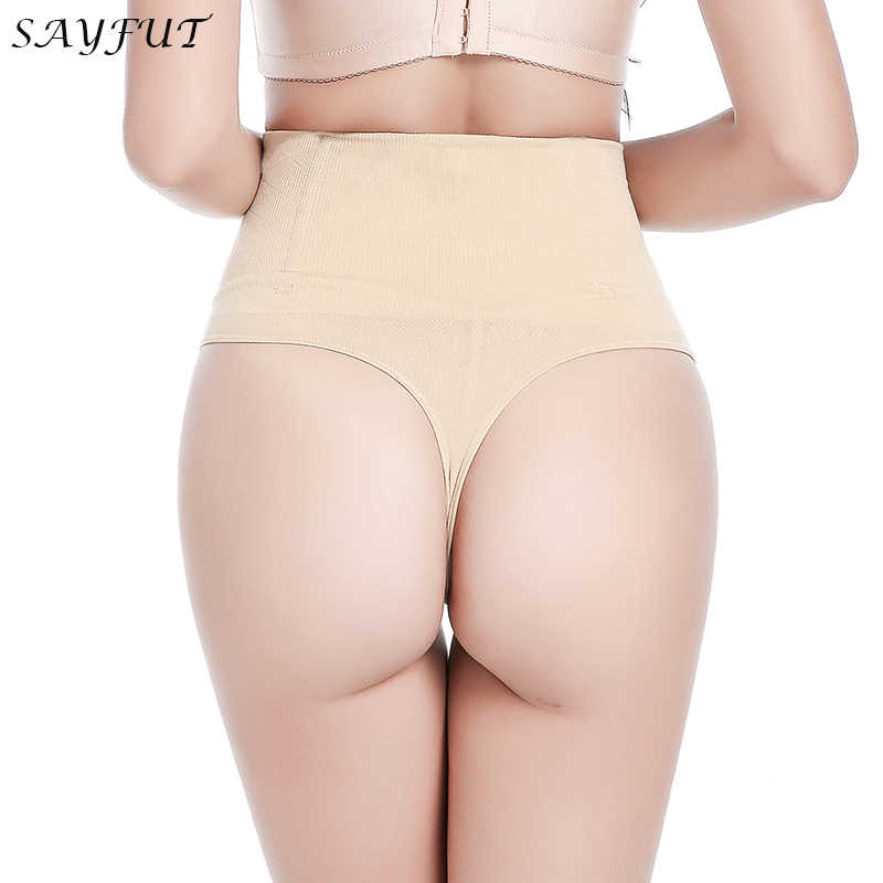 025f224808613 Detail Feedback Questions about SAYFUT Women s Steel Boned Waist Trainer  Butt Lifter Panties Shapewear Tummy Control Butt Enhancer Body Shaper Thong  Panty ...