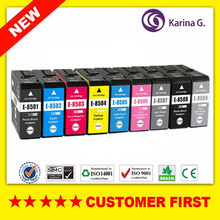 Compatible for Epson T8501 T8501- T8509 Ink Cartridges suit For SureColor P800 SC-P800 Printer