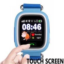Toobur Q90 Smart Baby Uhr Touchscreen WIFI GPS Tracker Smartwatch für IOS & Android Smart Telefon PK Q80 Q60 Q50 Weihnachten geschenk
