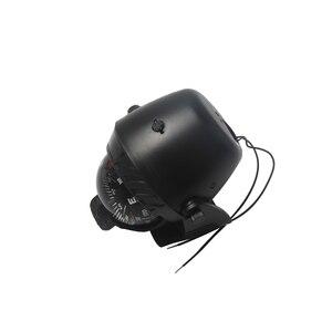 Image 2 - Luz LED de 12V para barco de mar, brújula para barco, vehículo, barco, coche, indicador, blanco y negro