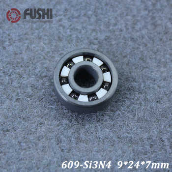 609 Full Ceramic Bearing ( 1 PC ) 9*24*7 mm Si3N4 Material 609CE All Silicon Nitride Ceramic Ball Bearings