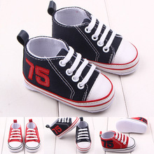 Baby shoes wholesale spring and autumn new 75 front lace soft bottom baby shoes toddler shoes 2220