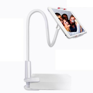 Image 4 - Long Arm Tablet PC Stand Rotation Full Metal Lazy Bed Table Bracket 4 10.6 inch Smartphone Holder for iPad Air Mini 1234 Holder