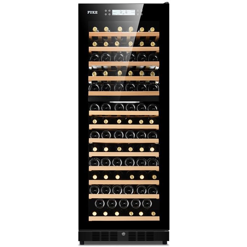 FK-168W eléctrico del gabinete del vino del nevera de compresor de refrigerador de vino armario de almacenamiento de vino enfriador de vino bodega enfriador de vino