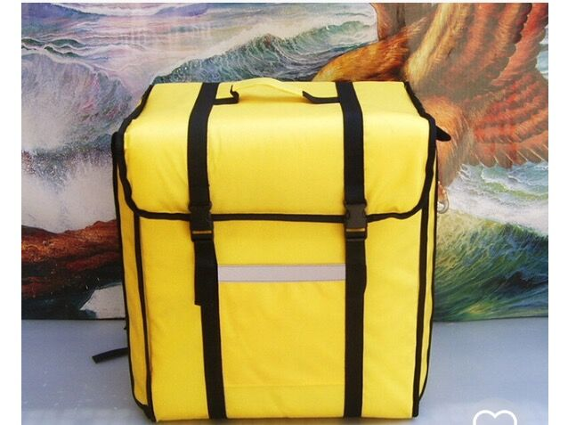 Backpack insulation bag 42*26*46CM, fast food insulation package, food package delivery pizza delivery bag pizza delivery bag ...