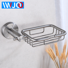 Bthroom Soap Holder Wall Mounted Soap Dish Storage Holder Stainless Steel Soap Dishes Box Tray Corner Cosmetic Shampoo Shelf все цены