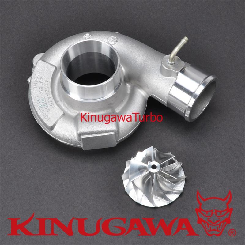 Kinugawa Turbo Upgrade Compressor Kit Billet Wheel for SUBARU TD04L-19T цена